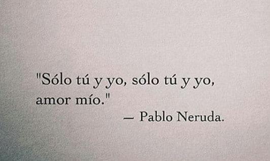 Frases Neruda Amor Filosofia Hoy